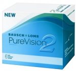 PureVision 2HD - 6 pieces monthly new generation of contact lenses