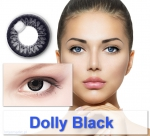 Dolly Black - Farbige Kontaktlinsen Big Eyes